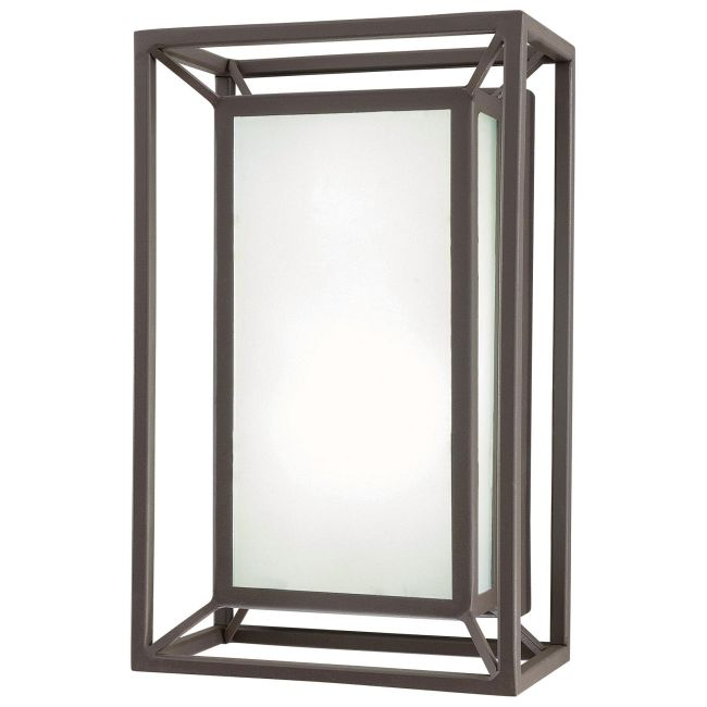 Outline Outdoor LED Wall Sconce  by George Kovacs