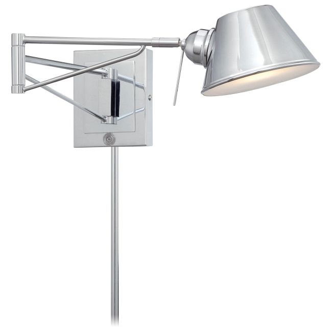 P611 Swing Arm Wall Sconce  by George Kovacs