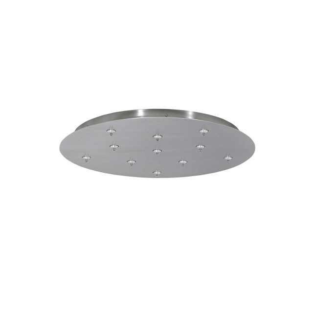 11-Port 12V Low Voltage Round Canopy by Tech Lighting | 700FJRD11WS