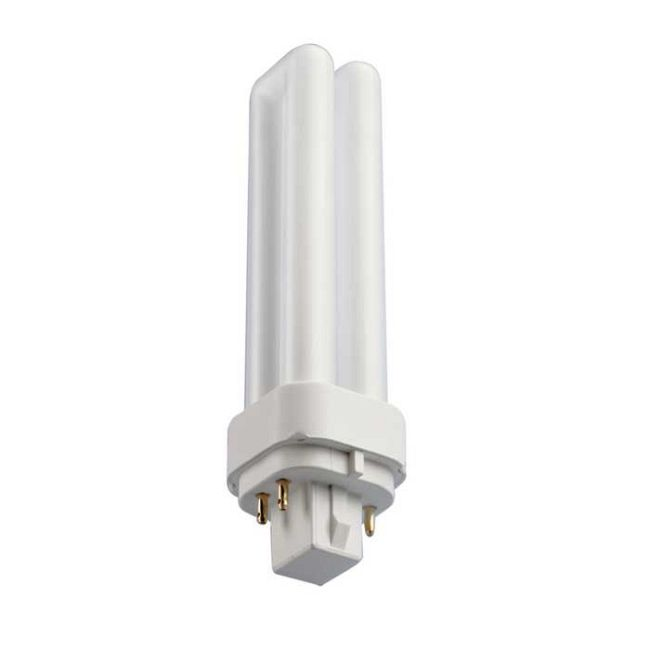 T4 G24q-2 Base 18W CFL 3000K 120V  by Bulbrite