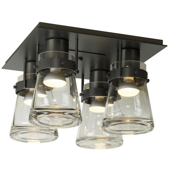 Erlenmeyer Semi Flush Ceiling Light  by Hubbardton Forge