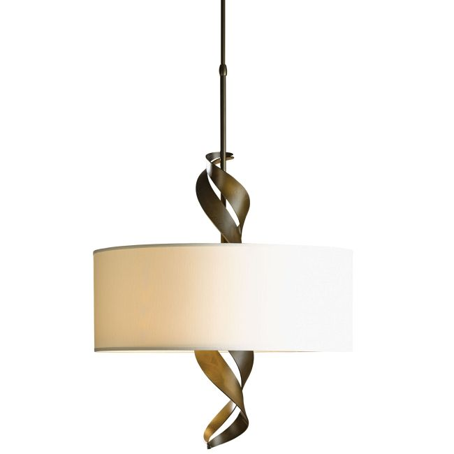 Folio Drum Shade Pendant  by Hubbardton Forge