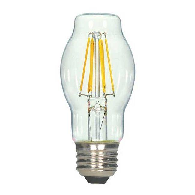 BT15 Med Base LED 6.5W Filament 120V  by Satco