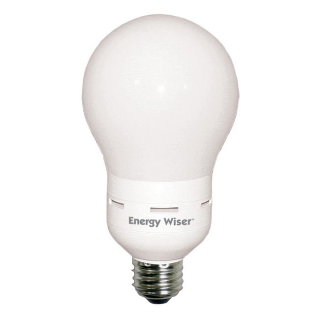 A20 Medium Base 20W CFL 2800K 120V  by Bulbrite