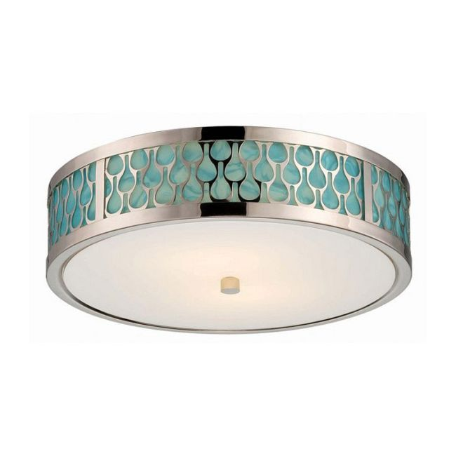 Raindrop Ceiling Flush Mount  by Satco