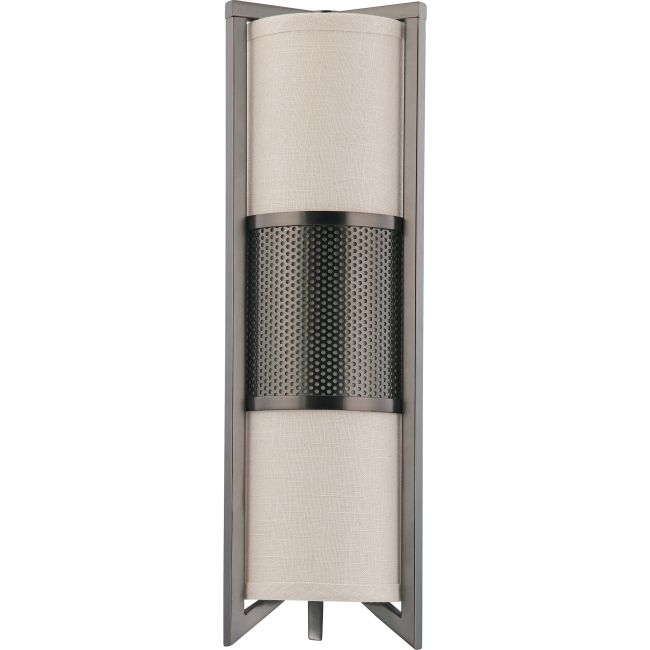 Diesel Vertical Wall Sconce  by Satco
