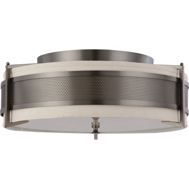 Diesel Ceiling Flush Mount  by Satco
