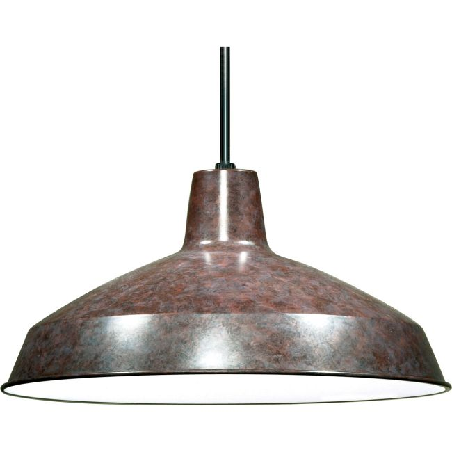 Warehouse Pendant  by Satco