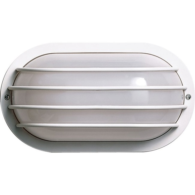 Cage Oval Outdoor Wall Light  by Satco