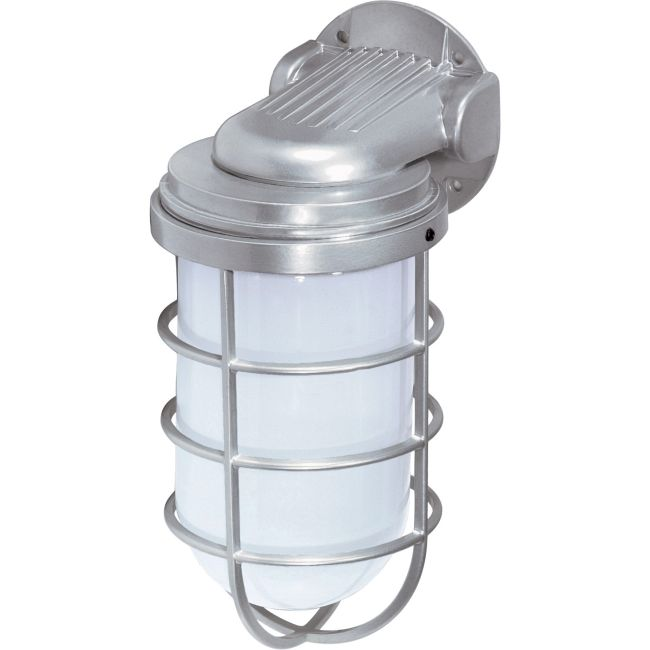 Tube Cage Outdoor Wall Sconce  by Satco