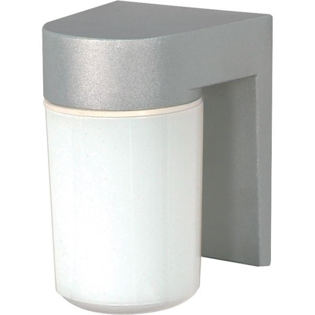 Tube Square Outdoor Wall Sconce  by Satco