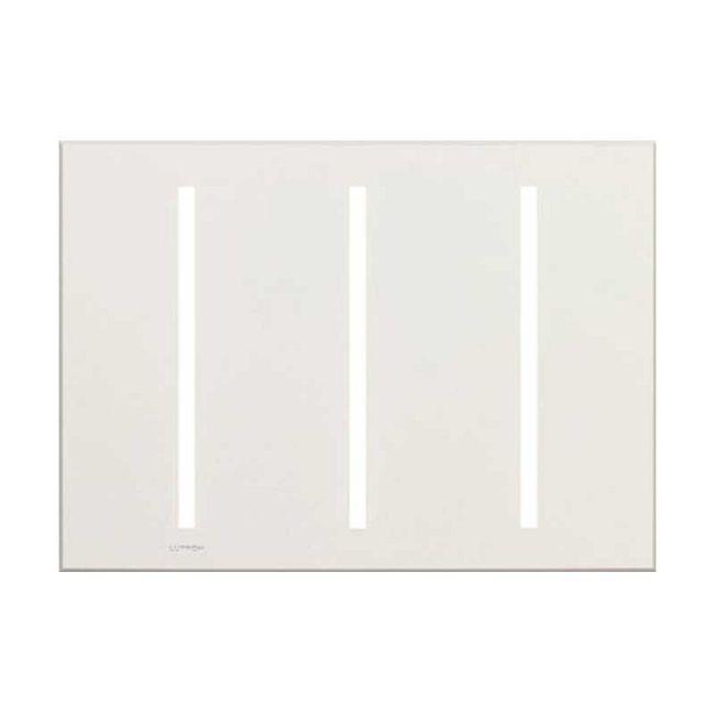 Grafik T Triple Gang Wall Plate  by Lutron