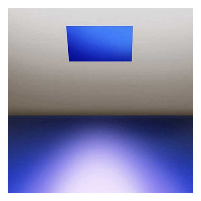Aurora RGB/LED Square 3.3 Inch Invisible Trim/Housing  by PureEdge Lighting