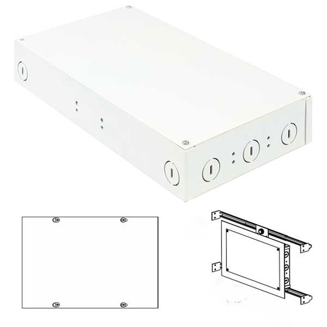 2X100W 24VDC ELV Class 2 LED In-Wall Power Supply  by PureEdge Lighting