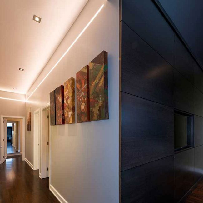 Reveal Tunable White Cove/Pathway Plaster-In LED System 24V  by PureEdge Lighting