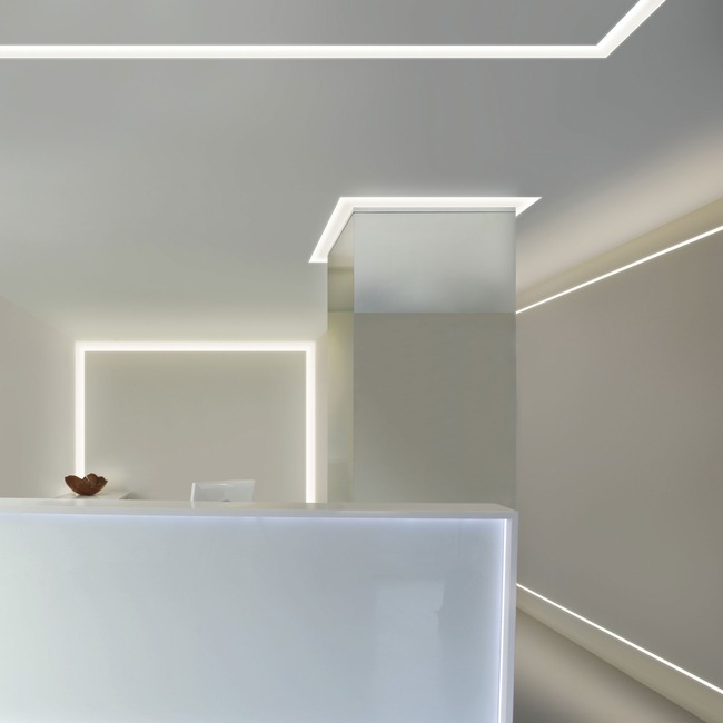 Verge Wall 5W Plaster-In System  by PureEdge Lighting