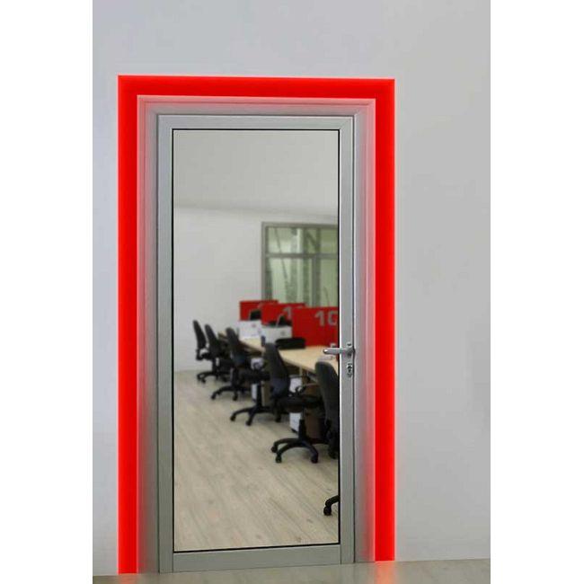 Verge Door Frame 3W RGB Plaster-In System  by PureEdge Lighting