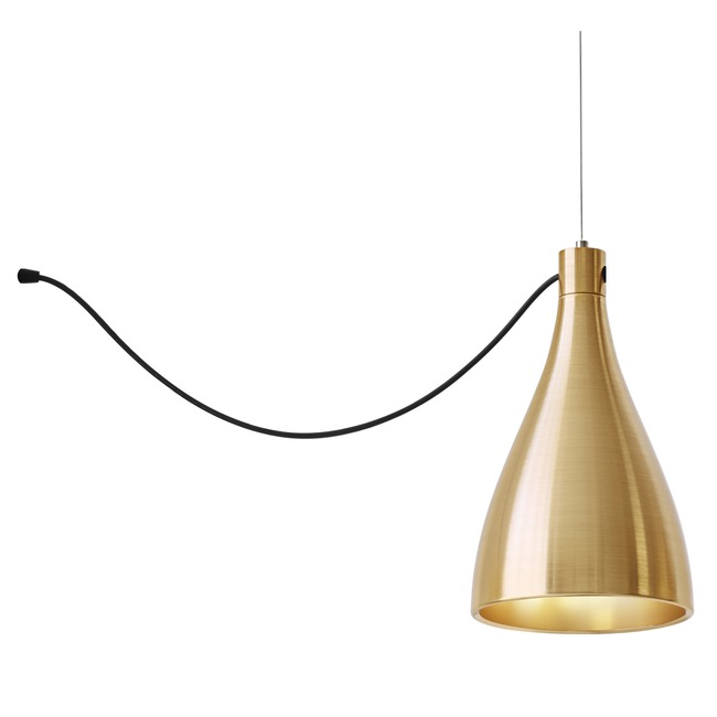 Swell Single String Narrow Pendant  by Pablo