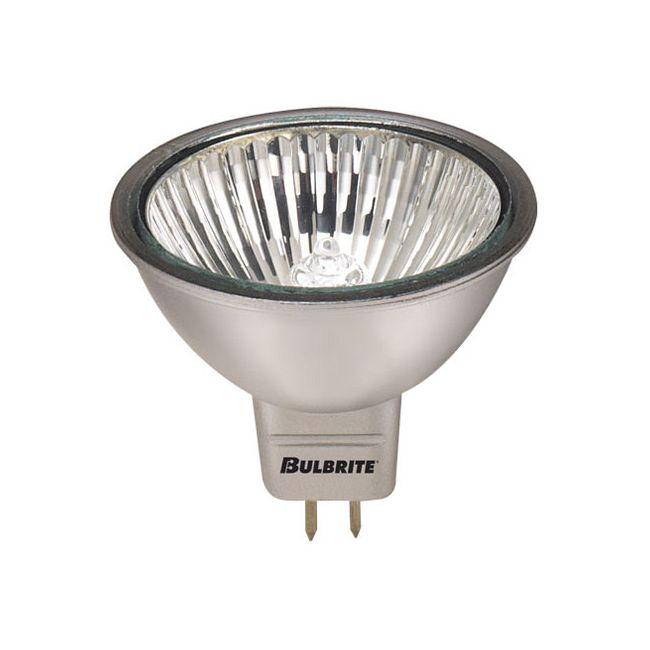 MR16 GU5.3 Base Silver 50W 12V 36Deg 2900K by Bulbrite   638501