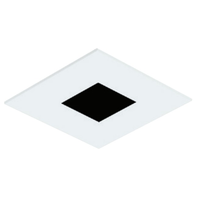 3 Inch Square Flanged Flat Trim  by Element by Tech Lighting
