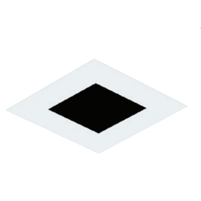 3 Inch Square Flangeless Flat Trim by Element by Tech Lighting | E3SLF-OW