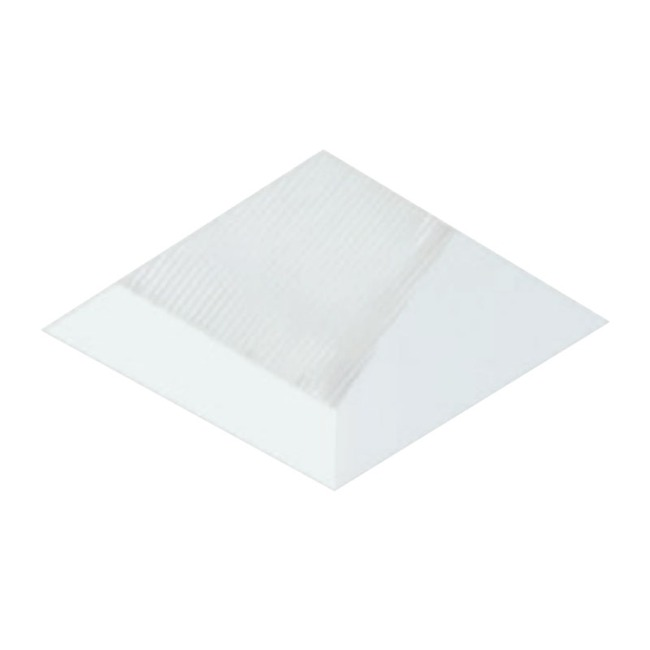 3 Inch Square Flangeless Wall Wash Trim  by Element by Tech Lighting