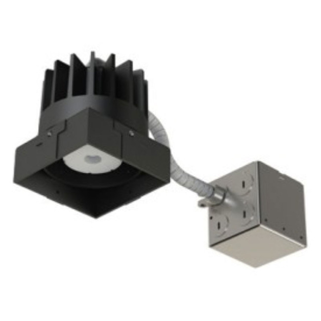 3IN SQ Flanged Fixed Downlight Non-IC Remodel Housing  by Element by Tech Lighting