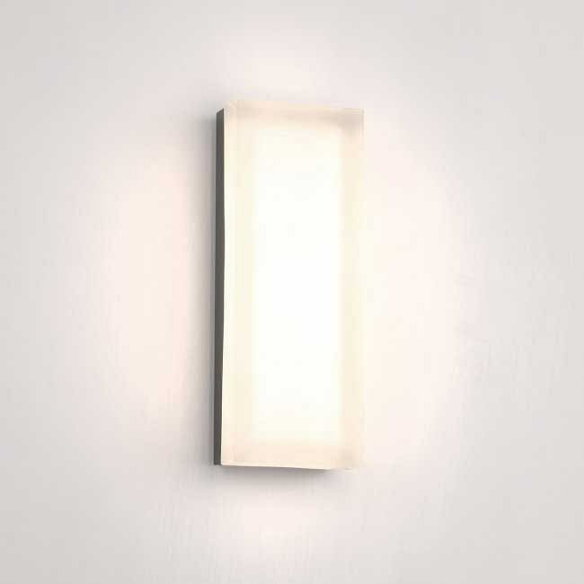 Dice Rectangle Wall/Ceiling Light by dweLED by WAC Lighting | FM-4014-27-BN