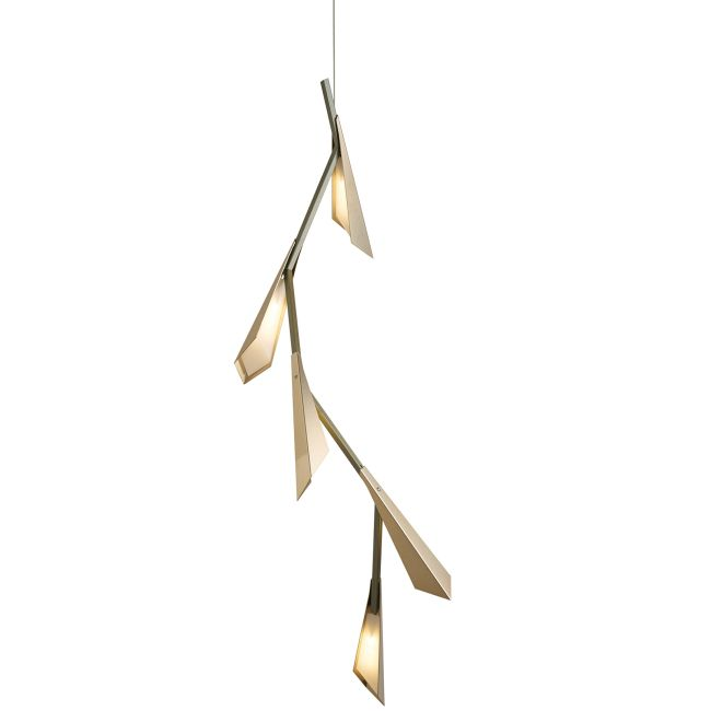 Quill LED Linear Pendant  by Hubbardton Forge