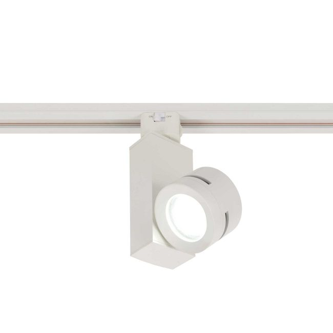 J-Type Classic Vertical Spot 2 Track Head  by PureEdge Lighting