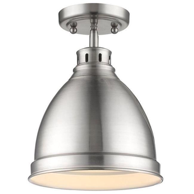 Duncan Semi Flush Ceiling Light  by Golden Lighting