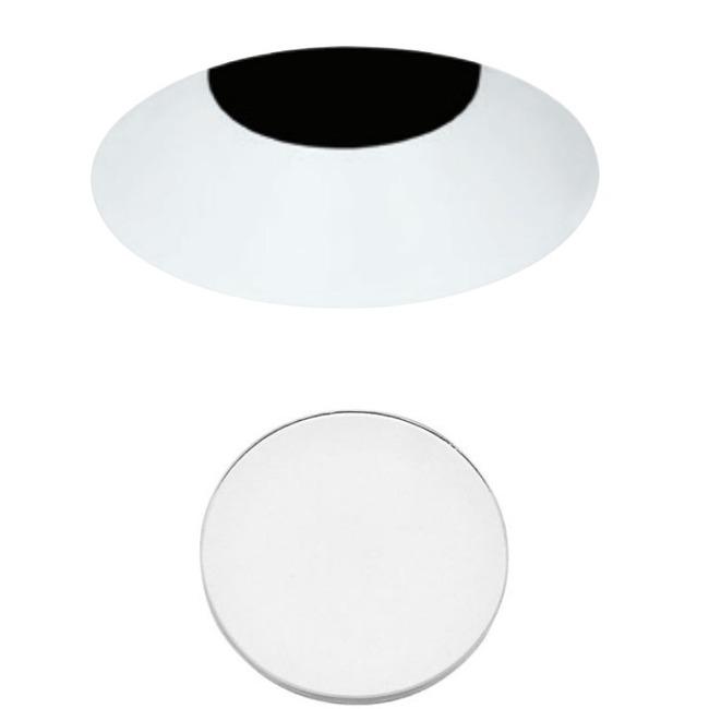 3 Inch Round Flangeless Bevel Shower Trim  by Element by Tech Lighting