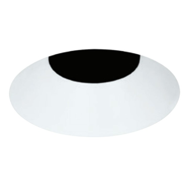 3 Inch Round Flangeless Bevel Trim by Element by Tech Lighting | E3RLB-OW