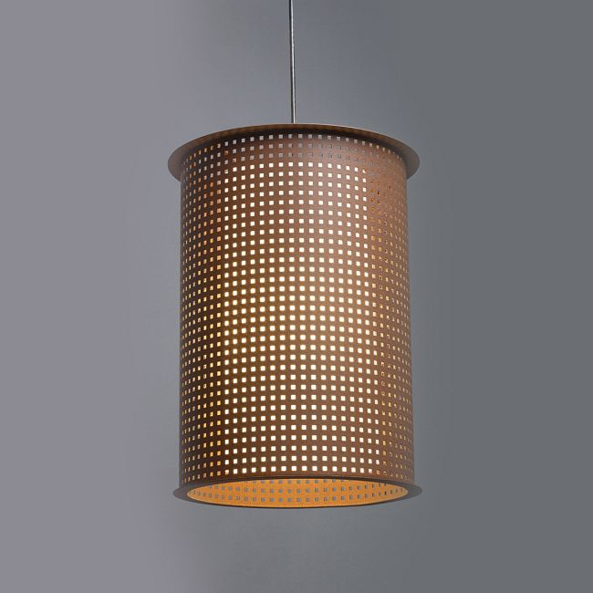 Clarus Round Shade Square Cutout Pendant  by Ultralights