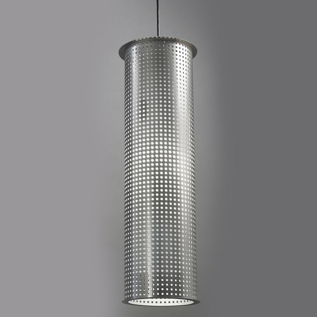 Clarus Thin Round Shade Square Cutout Pendant  by Ultralights