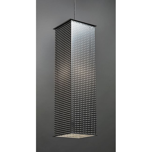 Clarus Long Square Shade Square Cutout Pendant  by Ultralights