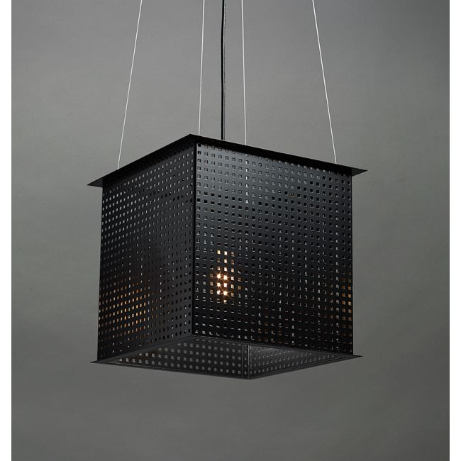 Clarus Square Exposed Square Cutout Pendant  by Ultralights