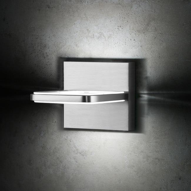 Wega Square 1 Light Bathroom Vanity Light  by Holtkoetter