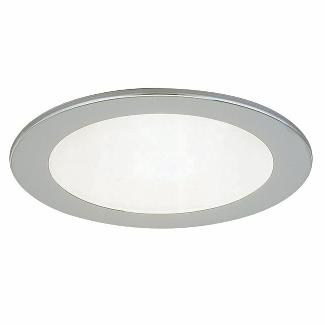 R3-409 3 Inch Round Lensed Shower Trim by Beach Lighting | R3-409BN