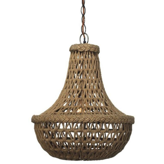 Macrame Chandelier  by Jamie Young Company