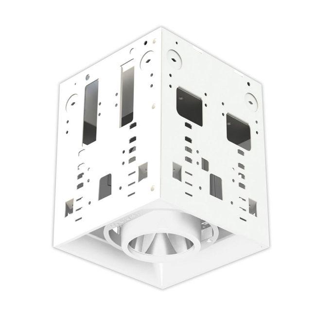 Modul-Aim Crisp White Modular Housing  by Contrast Lighting