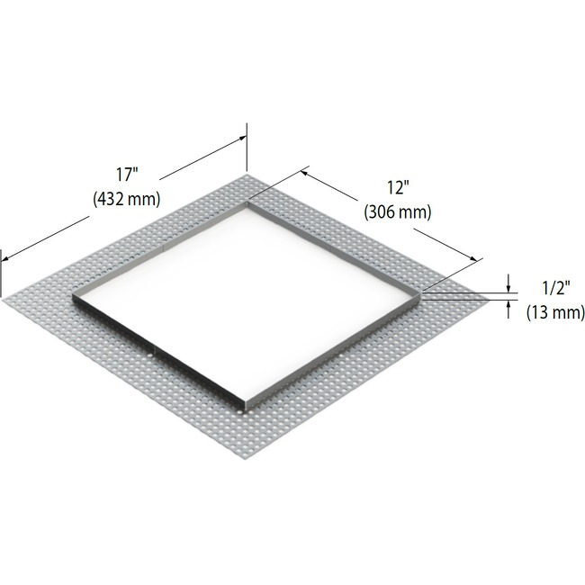 Modul-Aim Square Flangeless Trim  by Contrast Lighting
