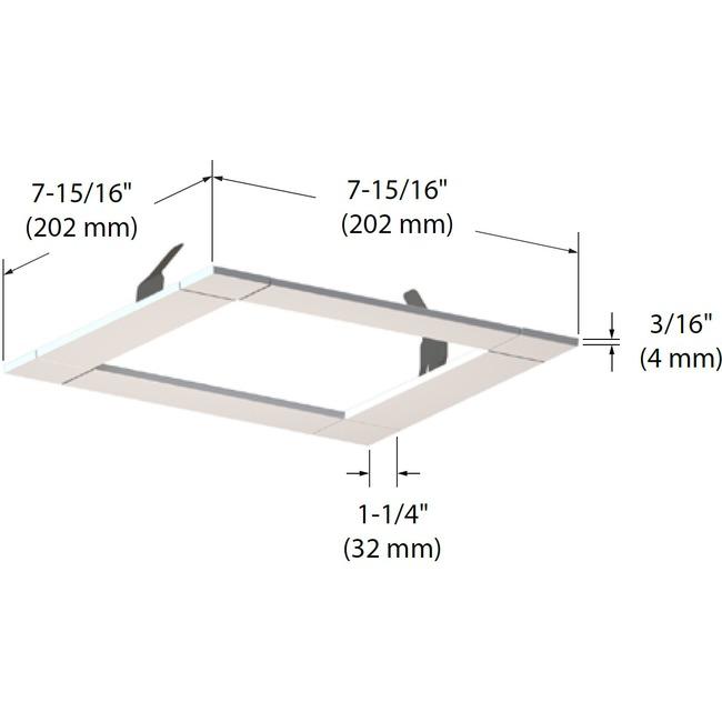 Modul-Aim Linear Trim  by Contrast Lighting