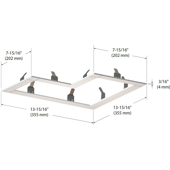 Modul-Aim L Trim  by Contrast Lighting