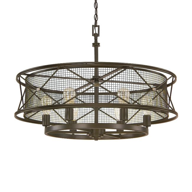 Jackson Round Pendant  by Capital Lighting