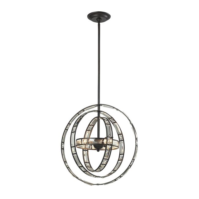 Crystal Orbs Pendant  by Elk Lighting