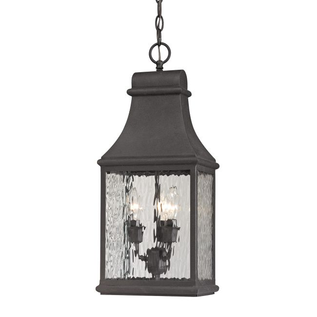 Forged Jefferson Outdoor Pendant  by Elk Lighting