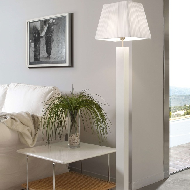 Tau Madera Floor Lamp  by Bover