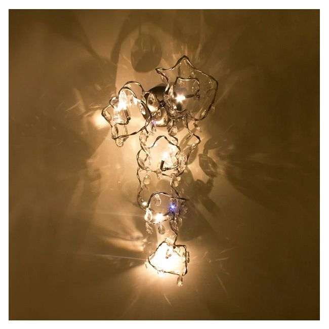Tiara Long Wall Sconce  by Harco Loor