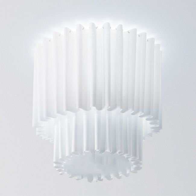 Skirt Double Ceiling Light Fixture  by Axo Light